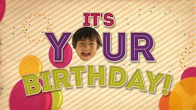 Happy Birthday お誕生日ビデオレターオープニング映像