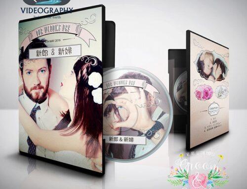 結婚式用DVDジャケットデザイン パッケージデザイン&レーベル 盤面印刷デザイン Vol.4