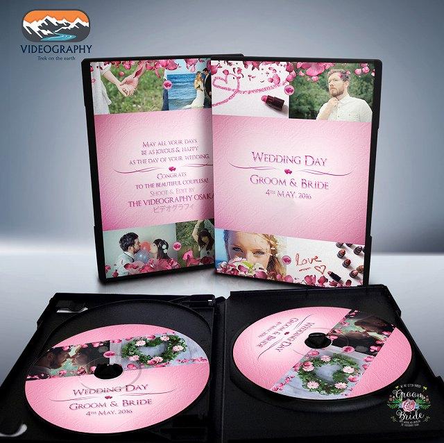 DVDパッケージデザイン ラベル盤面印刷イメージ写真Vol5
