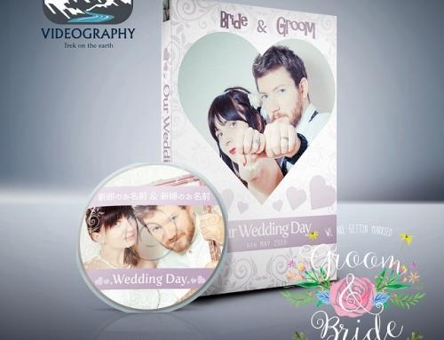 結婚式用DVDジャケット/パッケージデザイン&レーベル/盤面印刷デザイン Vol.1