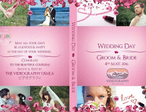 結婚式用DVDジャケット/パッケージデザイン&レーベル/ラベル/盤面印刷デザイン一覧