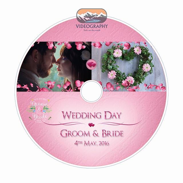 結婚式用DVDジャケット/パッケージデザイン\u0026レーベル/盤面印刷デザイン Vol.5