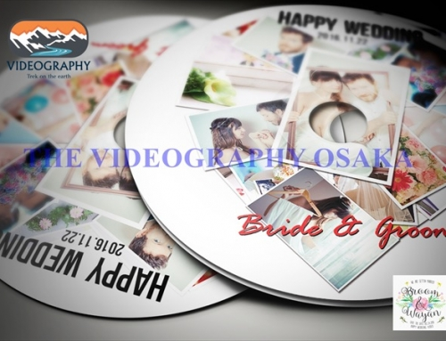 結婚式用DVDジャケット/パッケージデザイン レーベル/盤面印刷デザイン Vol.6
