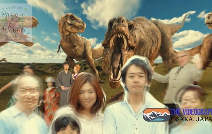Photo003:パロディ動画:ティラノサウルス/TREX・海外映画「ジュラシック・パーク」風オープニング映像用