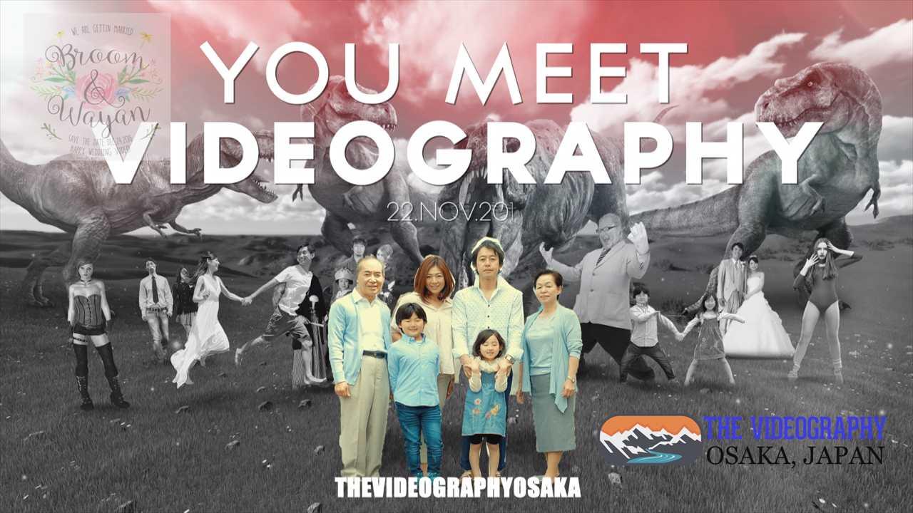 Photo005:パロディ動画:ティラノサウルス/TREX・海外映画「ジュラシック・パーク」風オープニング映像用