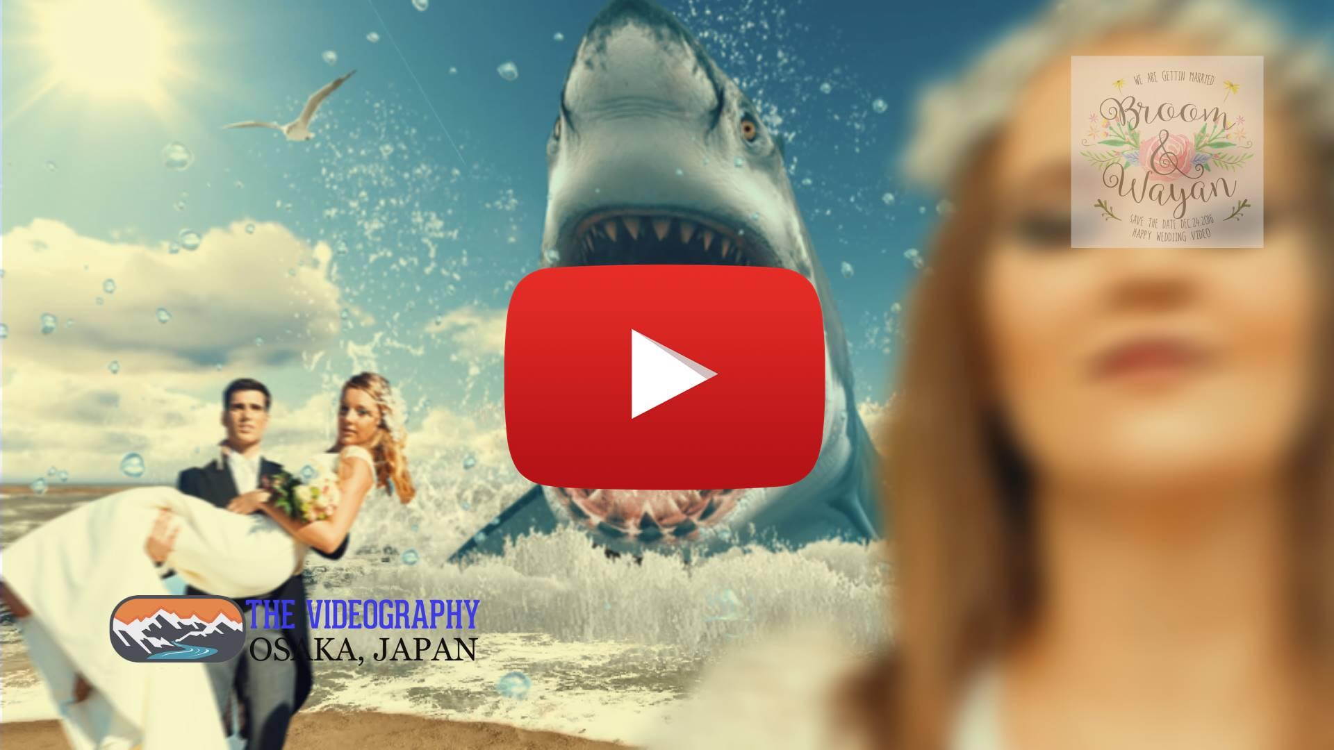 Parody Movie@Jaws / 海外映画ジョーズ風のオープニングパロディ映像