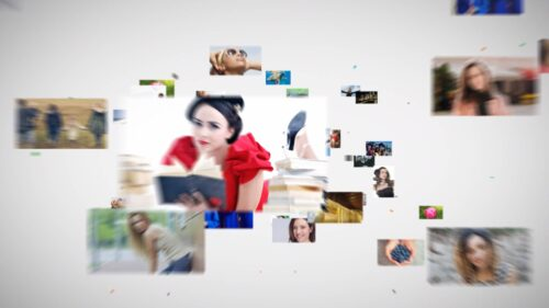 ビジネスオープニングロゴ映像Vol6