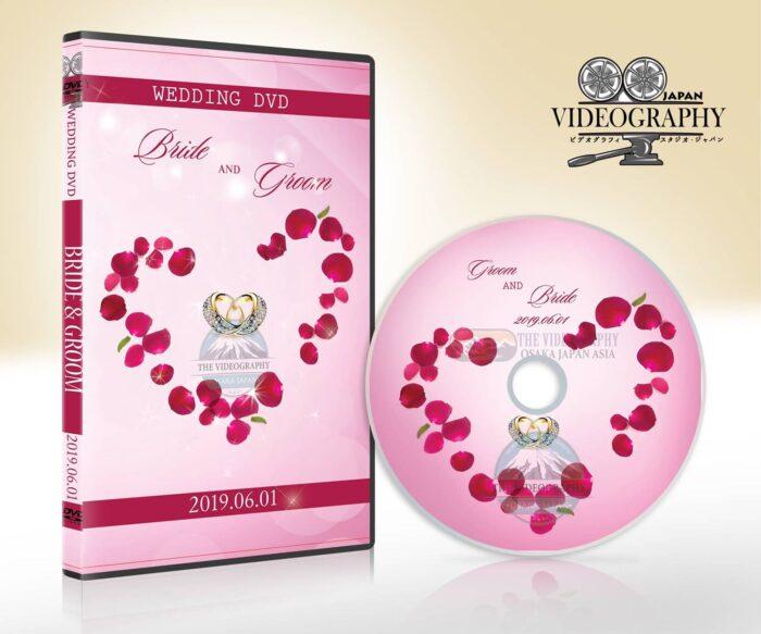 ブラックフライデー 記念セール・結婚式 DVD ジャケット デザイン