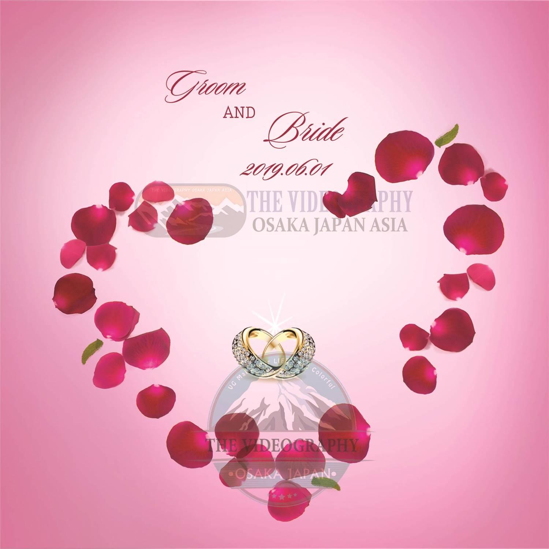 ブラックフライデー 記念セール・結婚式 DVD 盤面印刷 デザイン