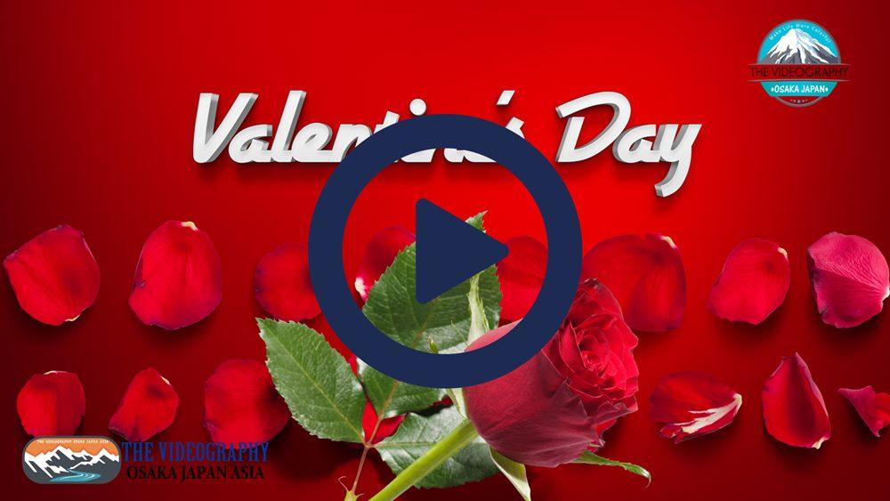 Happy Valentine's Day! ハッピー・バレンタイン・デーに最適なバラの花びら舞うおしゃれでポップな動画。人生の映像遺産 一瞬も 一生も 未来永劫 美しさが永続する 最高品質の動画です。結婚式やパーティ バレンタイン プロポーズに花を添えるラグジュアリームービー。