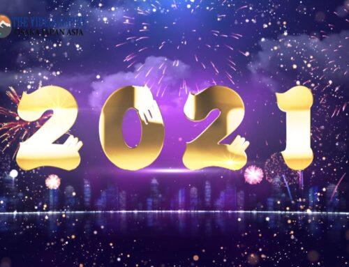 2021年 令和3年・謹賀新年 Happy New Year Countdown 2021. ハッピーニューイヤー カウントダウン