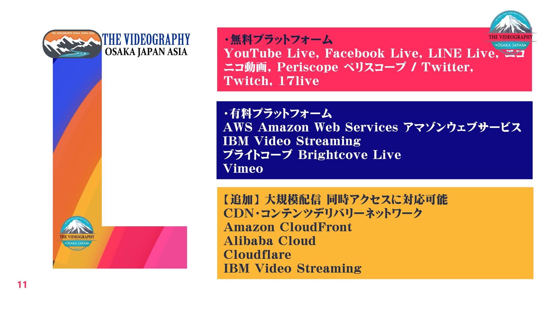 令和時代の動画マーケティング・「動画を作る」から 「動画で稼ぐ」「動画配信で稼ぐ」が主流の時代です。 さよならYouTube・レッドオーシャン 過当競争ではなく、ブルーオーシャン あなただけのオリジナルの動画作品 ライブ配信を視聴者に届けることが必須です。 【対応エリアは47都道府県】 東京都 大阪府大阪市 神奈川県横浜市 千葉県 愛知県名古屋市 北海道札幌市 福岡県博多市 青森県 岩手県盛岡市 宮城県仙台市 秋田県 山形県 福島県 茨城県水戸市 栃木県宇都宮市 群馬県前橋市 埼玉県 新潟県 富山県 石川県金沢市 福井県 山梨県 長野県松本市 岐阜県 静岡県 三重県津市 滋賀県大津市 京都府京都市 兵庫県神戸市 奈良県 和歌山県 鳥取県 島根県松江市 岡山県 広島県 山口県 徳島県徳島市 香川県高松市 愛媛県松山市 高知県高知市 佐賀県 長崎県 熊本県 大分県 宮崎県 鹿児島県 沖縄県那覇市 石垣島 西表島 八重山諸島