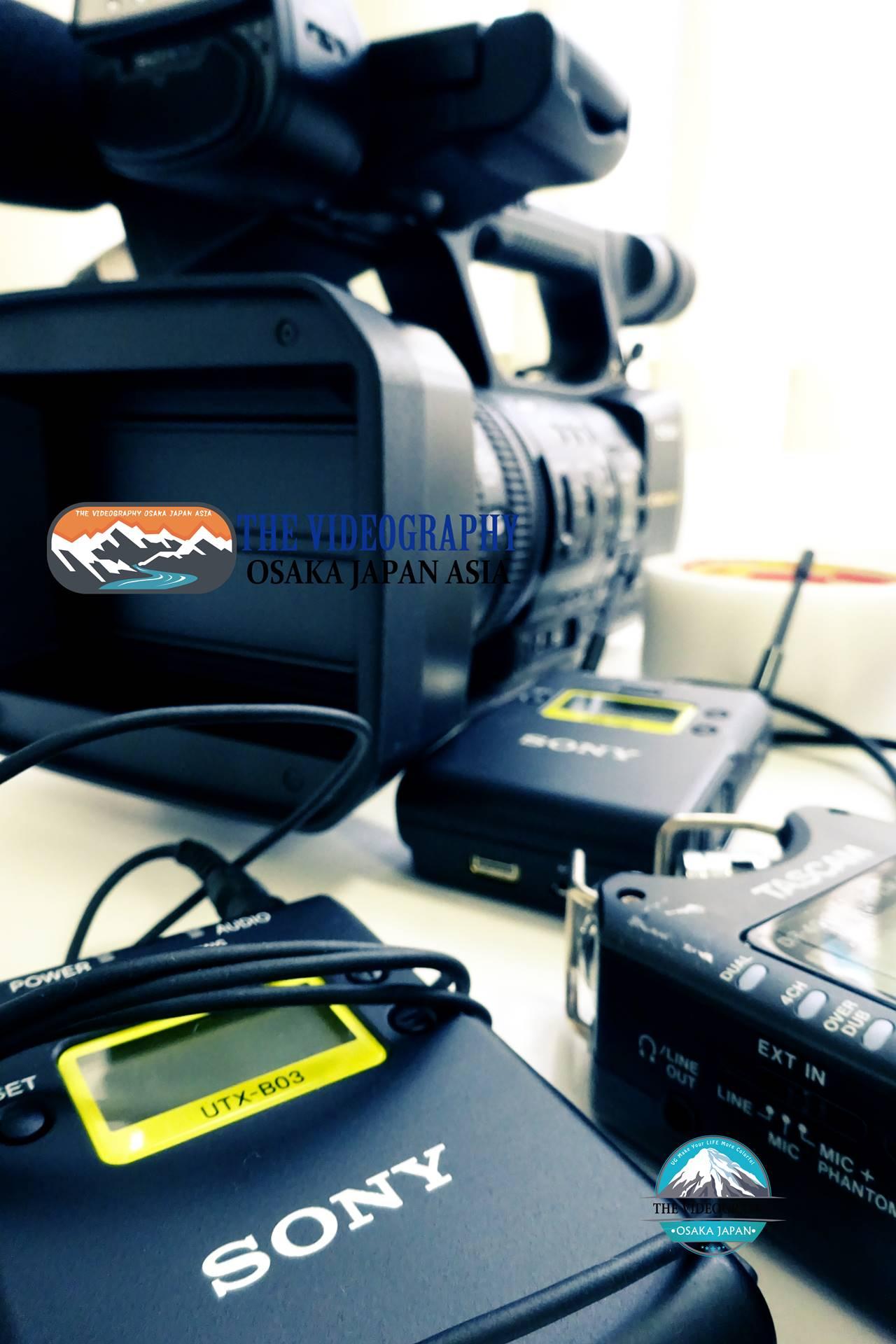 ソニー製ワイヤレスマイク or TASCAM製ICレコーダーを使用@セミナー 講演会 音楽ライブ 舞台 各種イベントの映像制作 ビデオ撮影 DVD作成