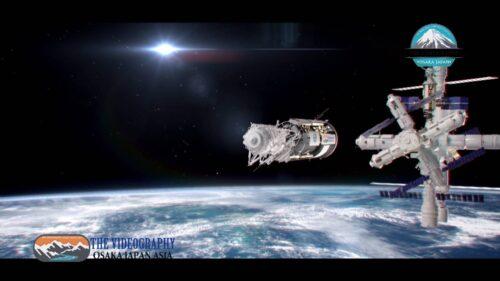 銀河系探索 宇宙遊泳 スペースシャトルのプロモーションムービー映像制作