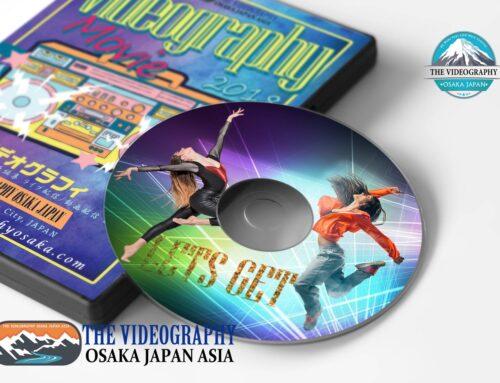 ダンスDVD・ヒップポップ ソウル ロック ブレイクダンスの動画制作 パッケージ レーベルデザイン
