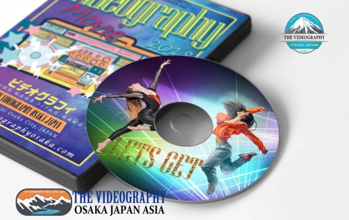 ピアノ発表会 ダンス 演奏会用DVDパッケージ ラベル レーベル デザイン