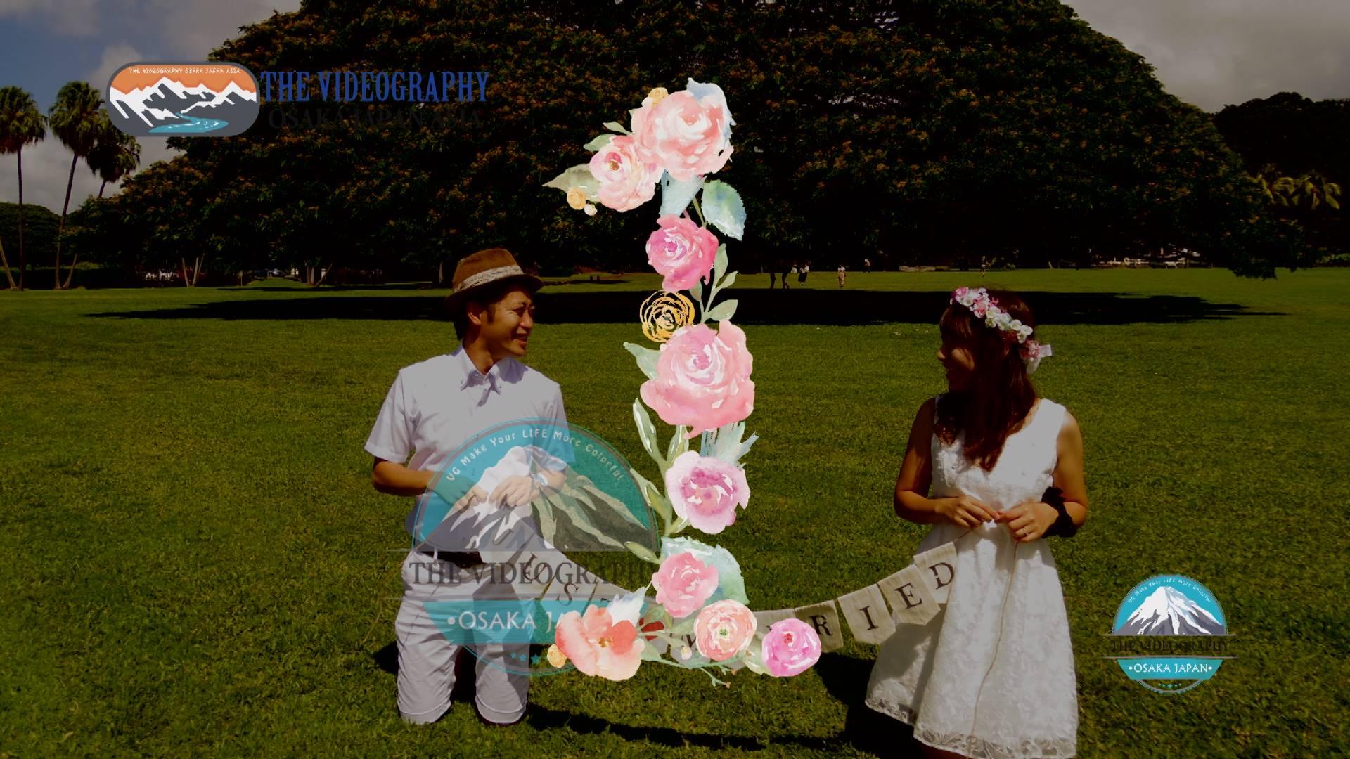 大阪 神戸 京都での結婚式 披露宴 二次会 誕生日など余興ムービー制作はビデオグラフィ