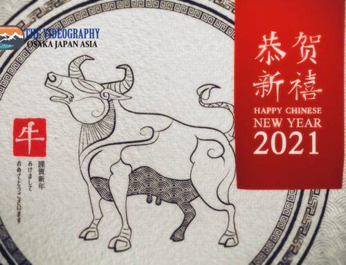 祝你新年好! 中国 旧正月 春節 春节 2021年 令和3年 丑年の新年オープニングムービー