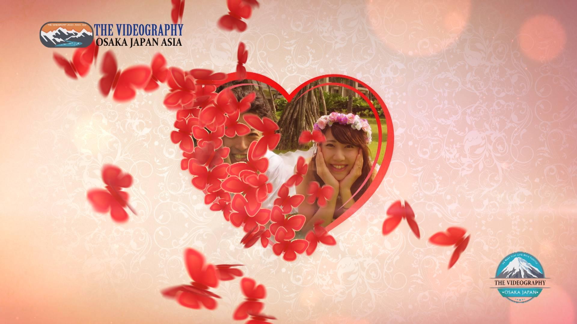 プロポーズ・サプライズビデオやバレンタイン、誕生日のプレゼントDVD / LoveStoryDVD for Proposal Valentine Happy Birthday