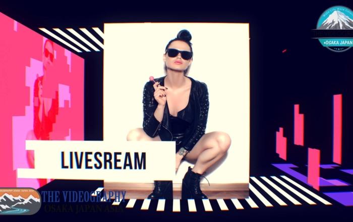 プロモーションビデオ@ファッション イベント。おしゃれでポップなファッション、女性イベント向けオープニングムービー制作